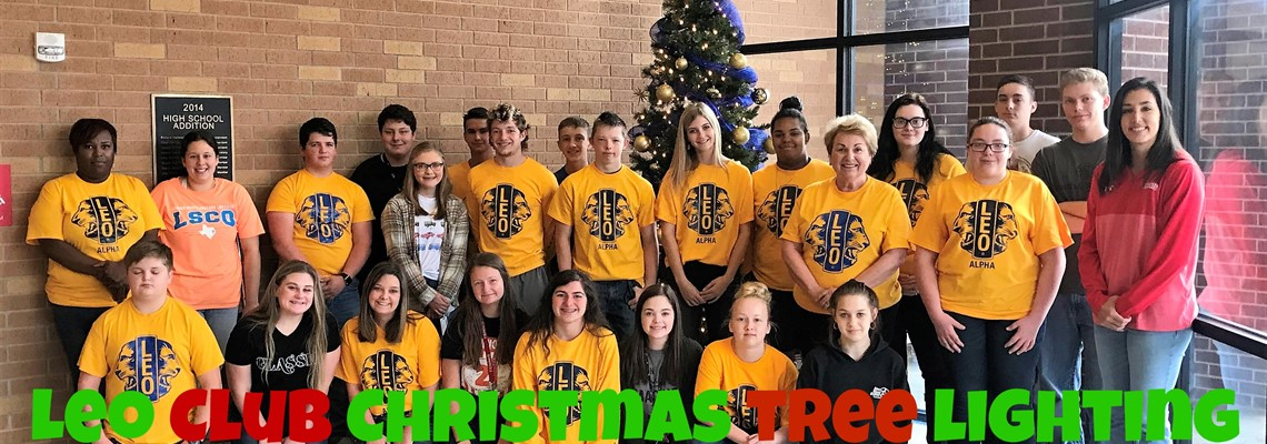Leo Club Christmas Tree Lighting