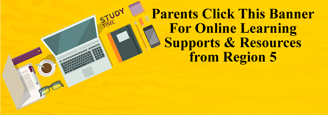 Online Learning Support and Resources Livebinder from Region 5