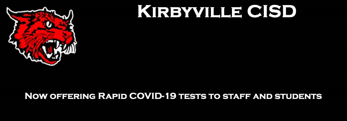 Click this LINK to see more details about KCISD Rapid COVID Testing