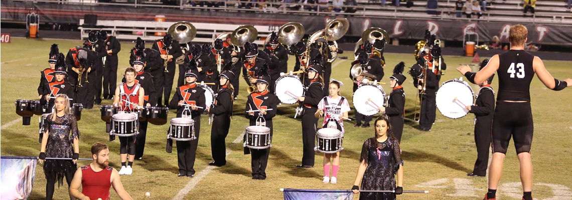 Kirbyville Band made it to the Finals at Area Marching Contest! We are so proud of our band! Awesome job this year!!!!