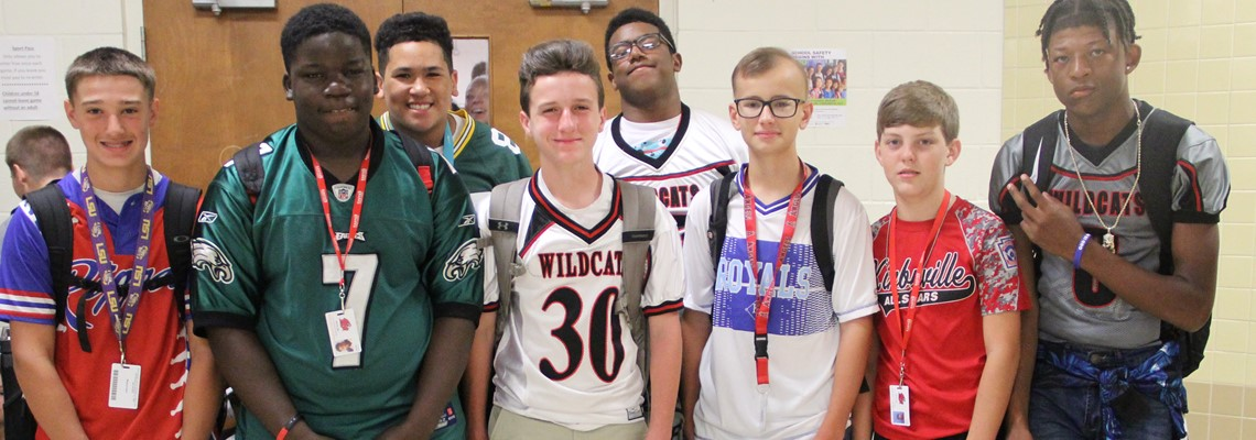 Sports Jersey Day - Homecoming 2018