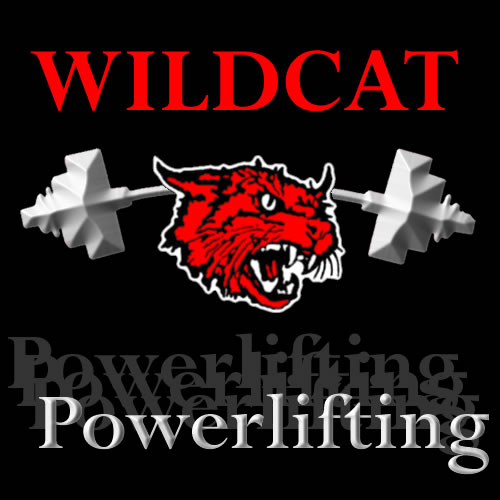Wildcat Powerlifting Logo